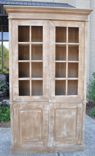Merveilleux Library Cabinet With Glass Transoms