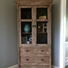 Small Bookcase Cabinet
