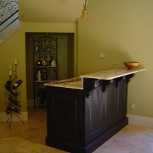 6 Bar-granite top