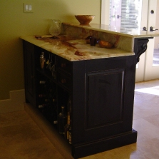 Bar-granite top