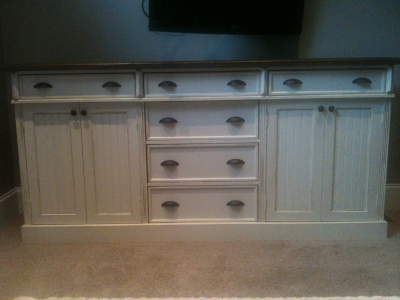 Custome Pine TV Base/Buffet/Vanity