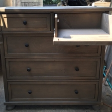 Chest of Drawers & Bred Chest & Double Dressers