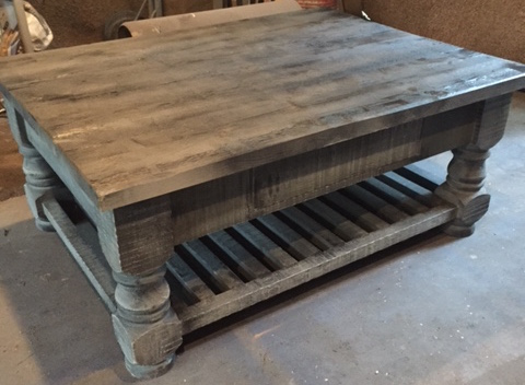 Coffee Tables European Antique Pine Furniture Custom Barn Doors - Coffee table with drawers and shelf