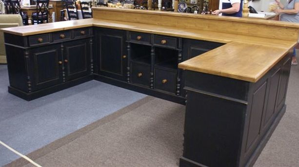 Checkout Counters Amp Store Displays European Antique Pine