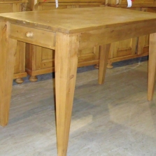 Tapered Leg Pub Table w/Drawer