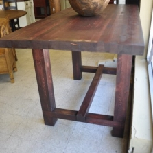 Square Leg Pub Table
