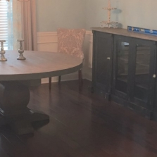 Custom Pedestal Table & Buffet