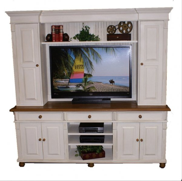 Tv Hutch W Side Doors