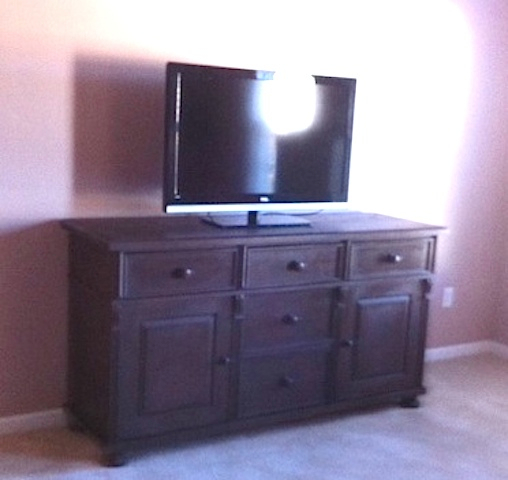 Custom Pine TV/Media Center Base Cabinet - TV Media Centers European Antique Pine Furniture & Custom Barn Doors