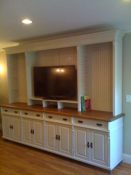 Custom Tv Hutch
