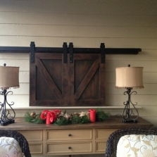 TV Barn Door