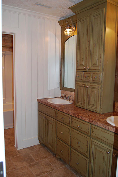 double vanity with center tower. Custom Pine Double Vanity w  Center Tower vanities European Antique Furniture Barn Doors