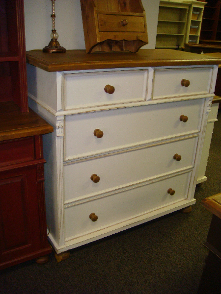 48 Pine Chest Of Drawers